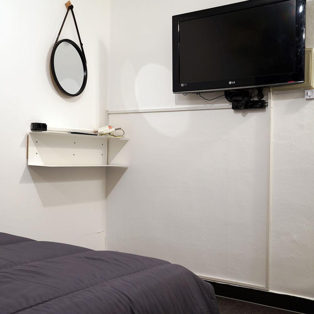 double room tv
